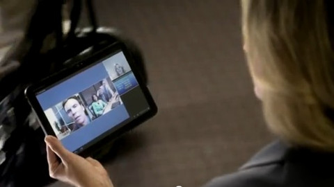 Video conferencing software, makes mobile meetings possible everywhere