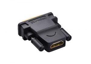 DVI 24+1 Male to HDMI Female Adaptor
