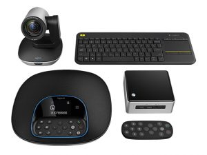 Logitech Group Kit with Intel NUC
