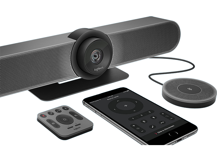 Logitech-MeetUp-ConferenceCam-bluetooth-enabled-for-audio-only-call-with-expansion-mic