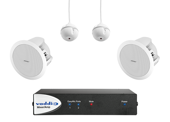 Vaddio EasyTALK USB Audio Bundle - System C