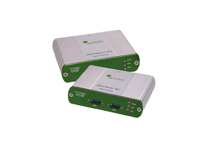 Icron USB 3.0 Two-port Multimode fiber 100m Extender