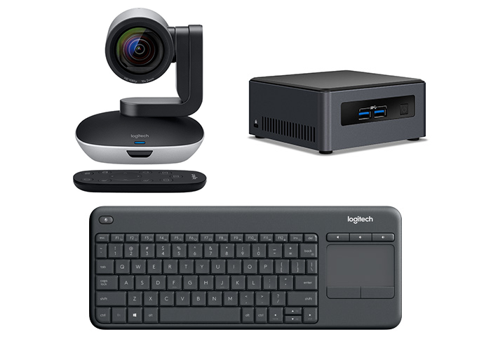 Logitech PTZ Pro 2 Camera with NUC Bundle