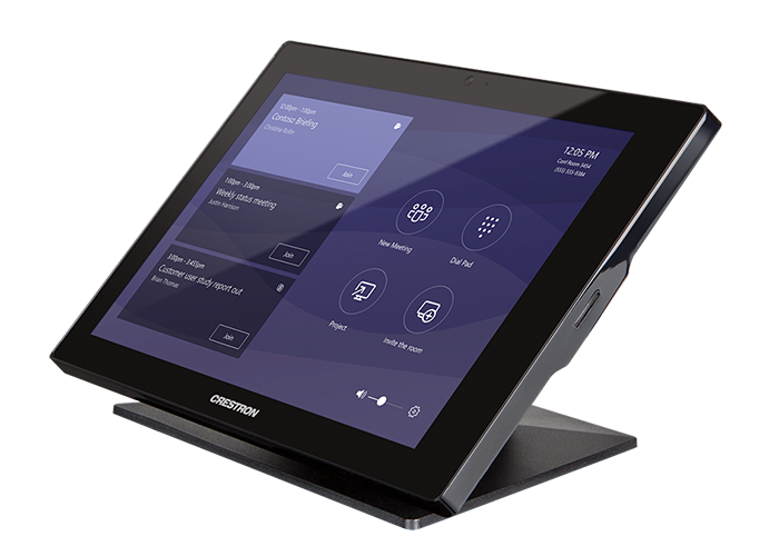 Crestron Flex Tabletop Touch Screen