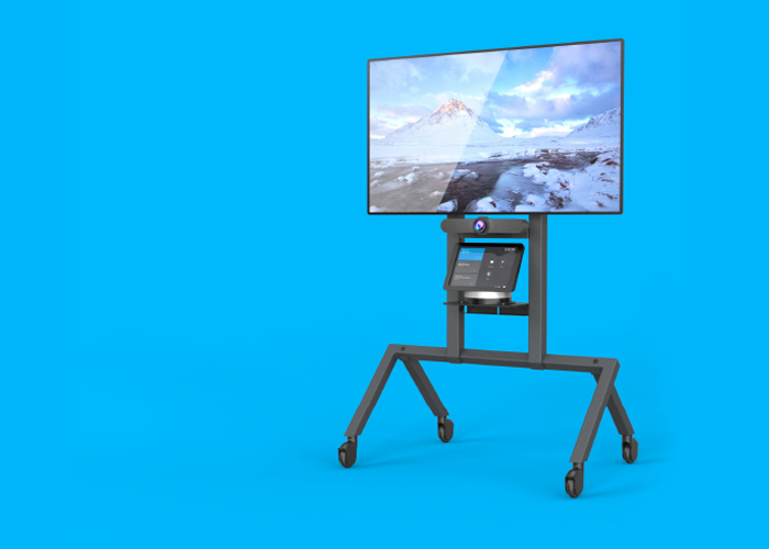 Heckler AV Cart for Logitech MeetUp Skype Room System