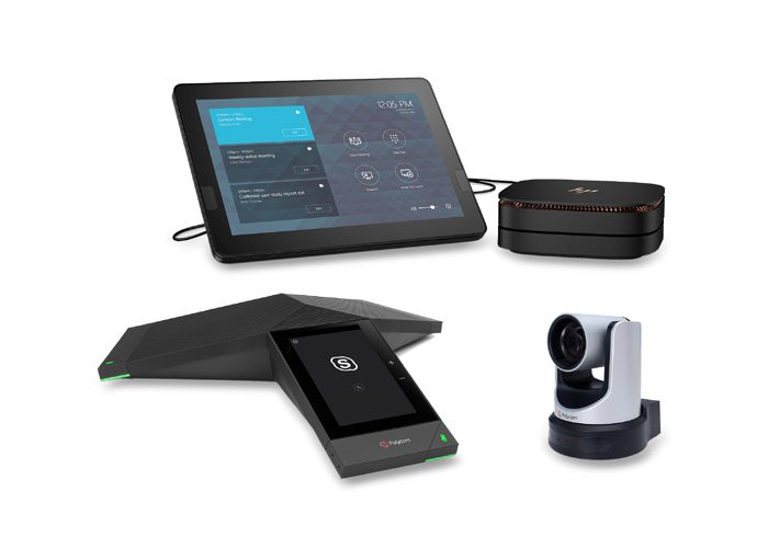 Polycom with HP SRS Medium Room Bundle