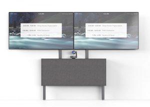 Dual Display Kit for AV Credenza