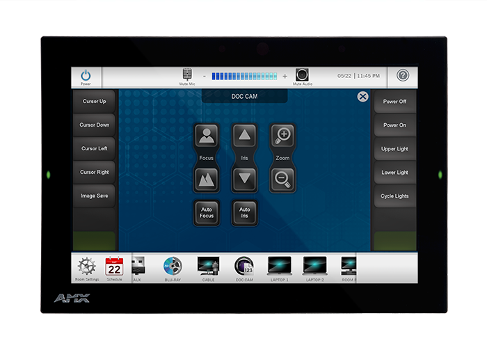 AMX Modero G5 Wall Mount Touch Panel
