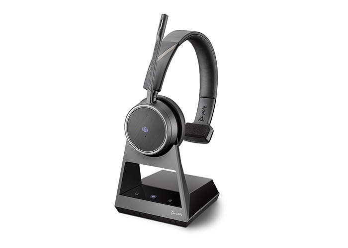Poly Voyager 4210 Bluetooth Headset with Charge Stand Microsoft Teams