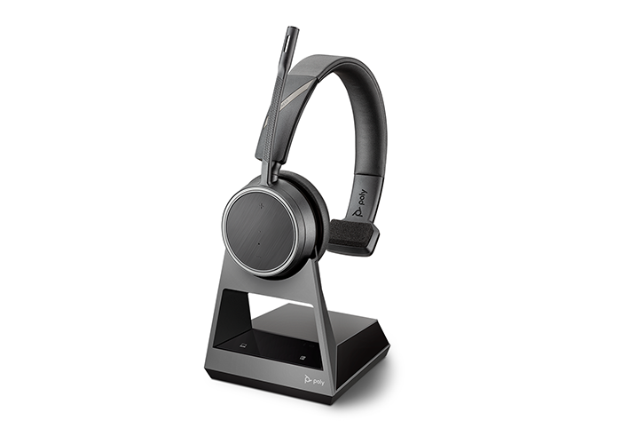 Poly Voyager 4210 Bluetooth Headset with Charge Stand uc