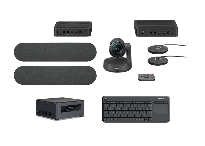 Logitech Rally Kit Plus with Intel NUC Bundle