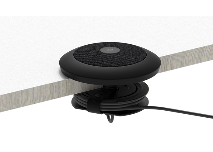 Table mount for Logitech Rally Mic Pod