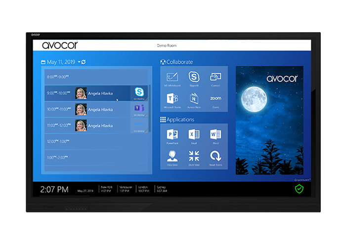 Avocor E65 Interactive Touch Screen