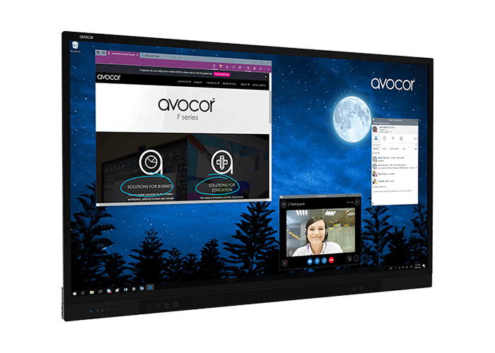 Avocor F65 Interactive Touch Screen