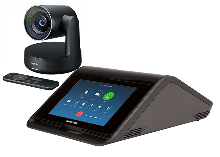 Crestron-Flex-MX150-for-Zoom-Rooms-with-Logitech-Rally-Camera