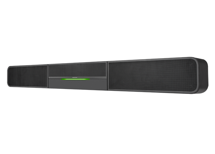 Crestron-UC-Video-Conference-Smart-Soundbar-side-UC-SB1