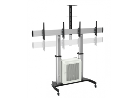 QTee-VC-Trolley_QTD07C-46TW-Height-Adjustable