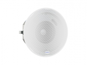 Vaddio-Ceiling-Speakers-White-(999-85600-000)-front-view