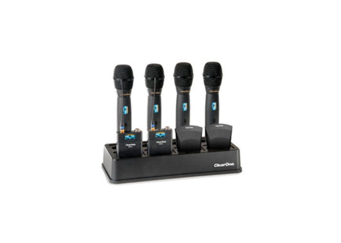 ClearOne-WS880-8-channel-Wireless-Microphone-System-Docking-Charging-Station