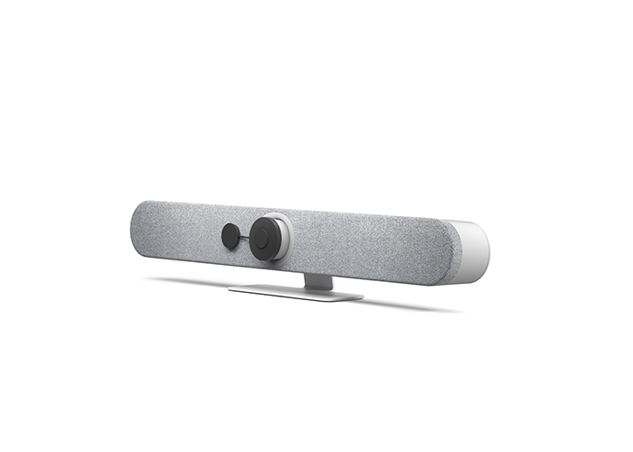 Logitech-Rally-Bar-Mini-White-960-001355-with-privacy-cover-right-side-view