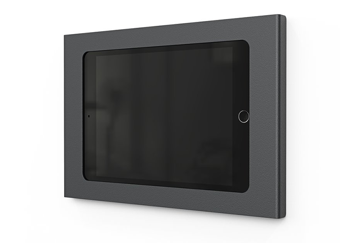 H565-Heckler-iPad-Mini-Wall-Mount-plus-Power-horizontal-right-side-view