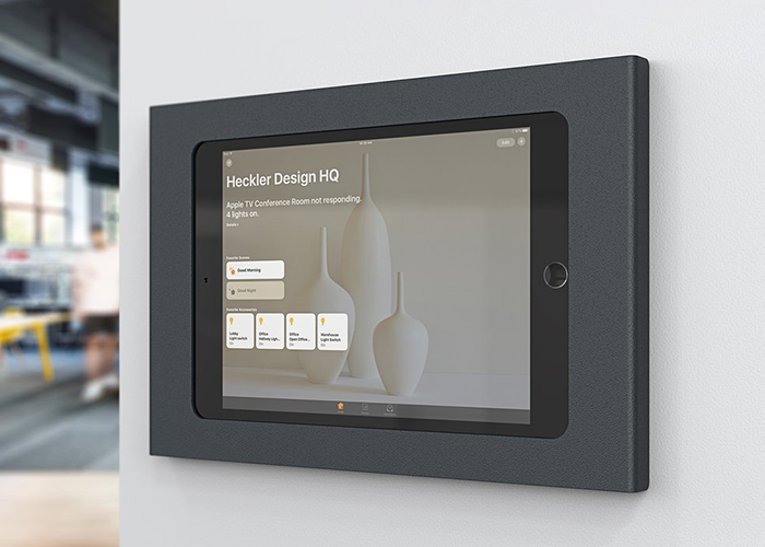 H565-Heckler-iPad-Mini-Wall-Mount-plus-Power-lifestyle-1-horizontal-right-side-view