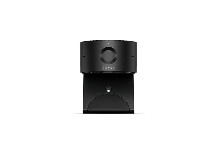 Jabra-PanaCast-20-8300-119-front-view-with-mounting-clip-opened-and-privacy-shutter-closed