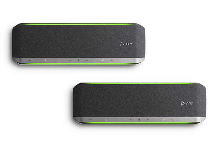 Poly-Sync-60-USB-Bluetooth-Speakerphone-UC-daisy-chain-two-devices-to-expand-audio-coverage