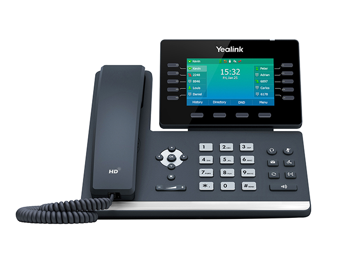 Yealink-SIP-T54W-Executive-Phone-front-view