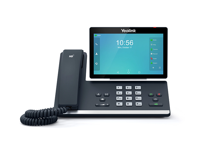 Yealink-SIP-T58A-Executive-Phone-with-Visual-Communication-front-view