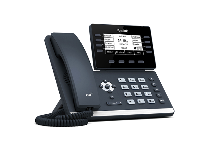 Yealink-T53-IP-Phone-left-side-view