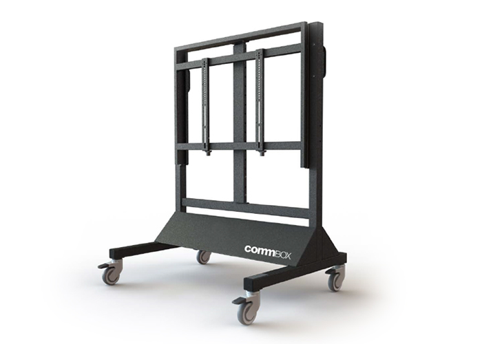 CommBox-Adjustable-Fixed-Height-Trolley-CBMOBAFH-right-side-view
