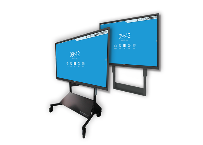 CommBox-Motorised-Stand-COMBI-2-in-1-CBMOBI-front-view