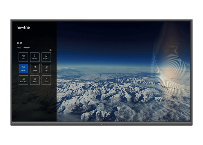 Newline-NT-Series-4K-Non-Touch-Display-with-built-in-Android-8.0-front-view